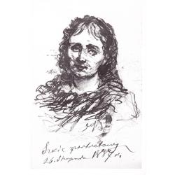 Portret kobiety (szkic)
