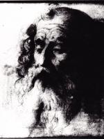 Głowa mężczyzny z brodą