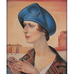 Portret żony z obrączką