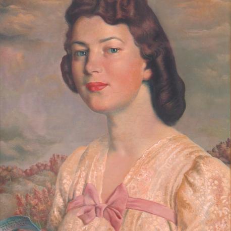 Portret Janiny Grobickiej