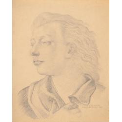 Studium do portretu Izabeli Sztosówny