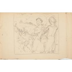 Żniwiarki (karta ze szkicownika)