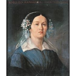 Portret Karoliny z Korgowdów Sleńdzińskiej