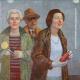 Autoportret z żoną Teresą i szwagierką Marylą
