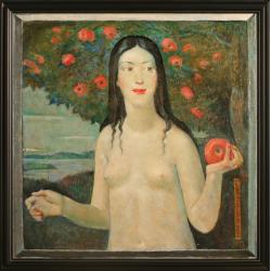 Ewa z jabłkiem